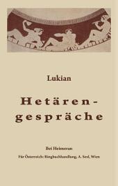 Hetärengespräche: Griechisch und deutsch