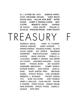 Treasury for the Free World