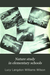 Nature Study in Elementary Schools: A Manual for Teachers