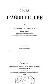 Cours d'agriculture: Volume2