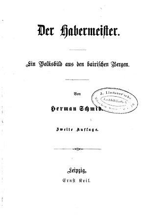 Der Habermeister PDF