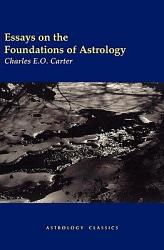 Essays On The Foundations Of Astrology Book PDF