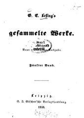 Gesammelte Werke: Neue rechtmäßige Ausg, Band 5