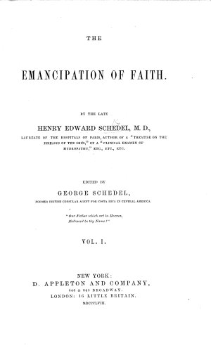 The Emancipation of Faith      Edited by G  Schedel