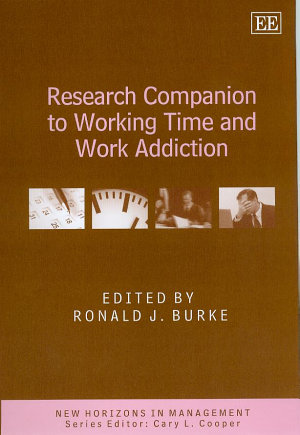 Research Companion to Working Time and Work Addiction PDF