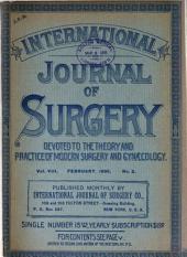 The International Journal of Surgery: Volume 8