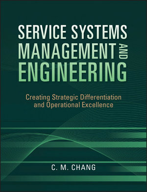 Service Systems Management and Engineering