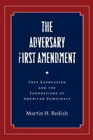 The Adversary First Amendment PDF