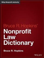 Hopkins  Nonprofit Law Dictionary PDF