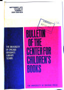 Download Bulletin of the Center for Children s Books Book