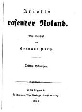 Rasender Roland: 32. - 46. Gesang, Band 3