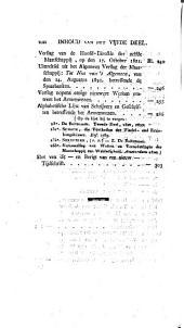 Magazijn voor het armen-wezen, in het Koningrijk der Nederlanden: Volume 6