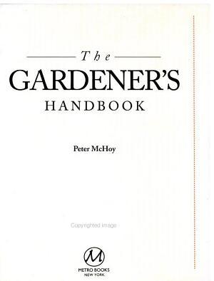 The Gardener s Handbook PDF