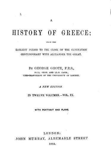 A History of Greece PDF