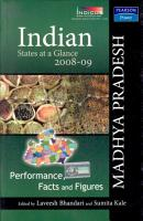 Indian States At A Glance 2008 09  Performance  Facts And Figures   Madhya Pradesh PDF