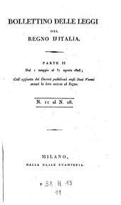 Bollettino delle leggi della repubblica Italiana: Volume 11