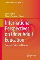 International Perspectives on Older Adult Education PDF