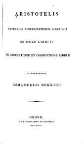 Aristotelis opera: Τόμοι 2-3