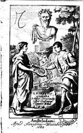 Q. Horatius Flaccus Scholiis, Commentarii instar illustratus a Ioanne Bond