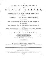 Complete Collection of State Trials PDF