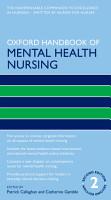 Oxford Handbook of Mental Health Nursing PDF