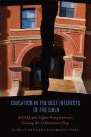 Education in the Best Interests of the Child PDF