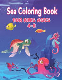Sea Coloring Book for Kids Ages 4-8