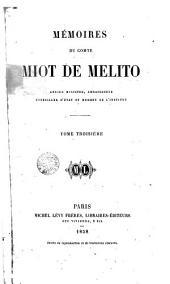 Mémoires du Comte Miot de Melito, 3