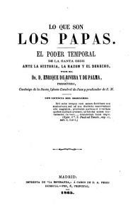 Lo Que Son Los Papas PDF