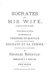 Socrates and His Wife, a One-act Comedy in Verse