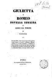 Giulietta e Romeo, novella storica