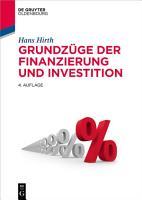 Grundz  ge der Finanzierung und Investition PDF