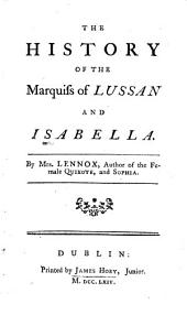 The history of the marquis of Lussan and Isabella