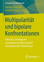 Multipolarit  t und bipolare Konfrontationen PDF