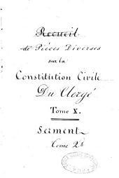 Epître a M. Lamourette, Se disant Evêque de Rhône et Loire, Métropolitain du Sud-Est. Sur son Instruction Pastorale et Doctrinale du 16 Juillet 1791