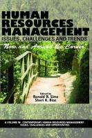 Human Resources Management Issues  Challenges and Trends PDF