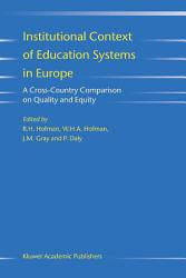 Institutional Context of Education Systems in Europe PDF