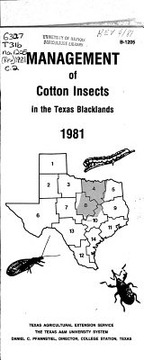 Management of Cotton Insects in the Texas Blacklands PDF