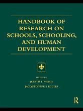 Handbook of Research on Schools  Schooling and Human Development PDF