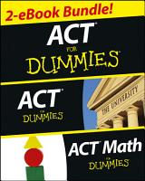 ACT For Dummies Two eBook Bundle PDF