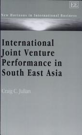 International Joint Venture Performance in South East Asia