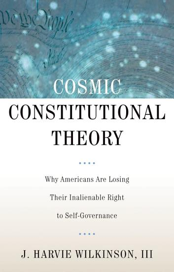Cosmic Constitutional Theory PDF
