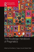 The Routledge Handbook of Pragmatics PDF