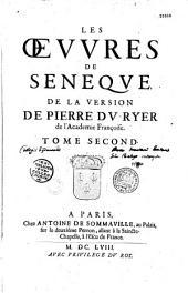 Les Oeuvres de Sénèque de la traduction de Pierre du Ryer