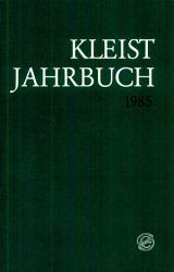 Kleist Jahrbuch 1985 PDF