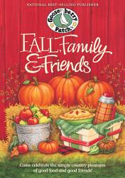 Fall Family Friends Cookbook Book PDF