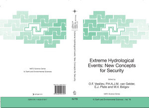 Extreme Hydrological Events  New Concepts for Security