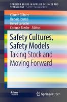 Safety Cultures  Safety Models PDF
