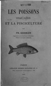 Les poissons d'eau douce et la pisciculture