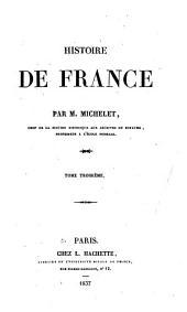 Histoire de France: Volume 3